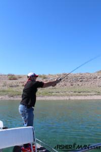 Bass fishing Las Vegas 2