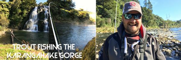 Trout Fishing The Karangahake Gorge